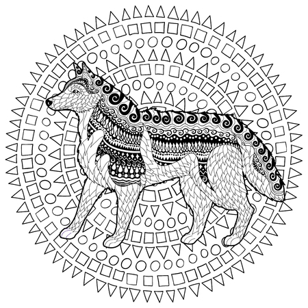 Husky siberiano con altos detalles.