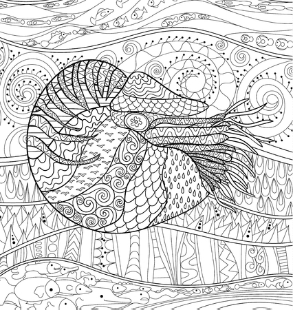 Ungewöhnlich Meer Tier Färbung Seiten Ideen - Framing Malvorlagen ...