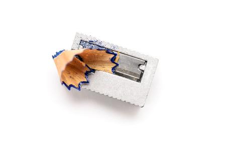 A sharpener on white background