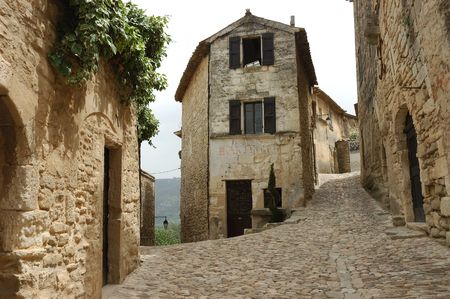 Bakery in old French mountain village.
