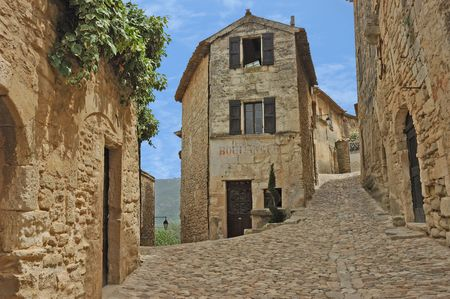 Old French Village of Lacoste Stock Photo - 4074820