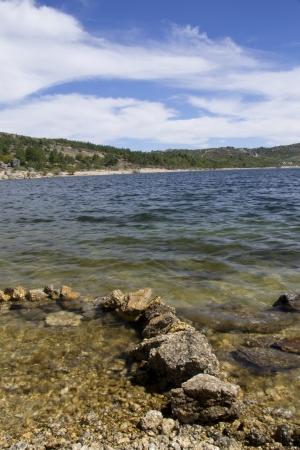 A beautiful lake in the Estrela Mountain, Portugal