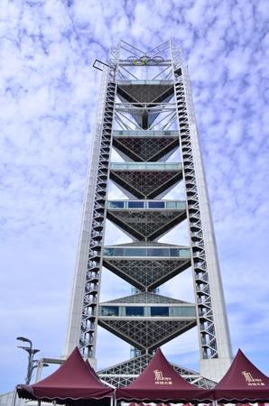 Linglong-toren, het Olympische Park van Peking