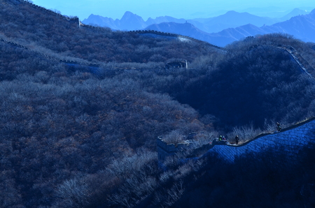 Jiankou Great Wall landscape view