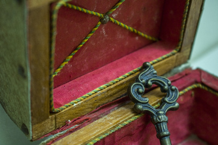 Small treasure chest and your keys