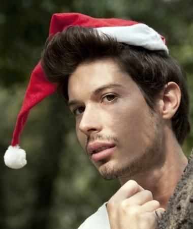 the elf of Santa Claus photo