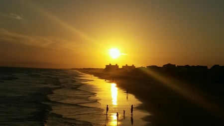 Sunset Emerald Isle North Carolina