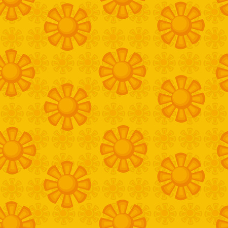 suns: seamless pattern.decorative suns.