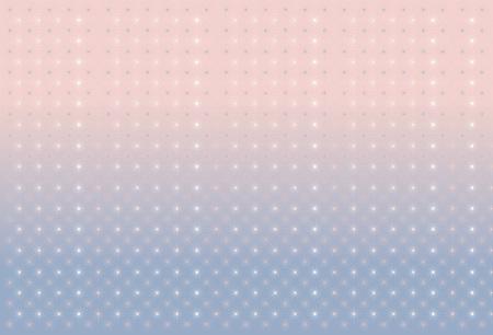 quartz: Background with stars. Serenity and pink quartz. Illustration