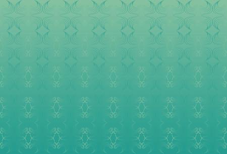 persian green: Green classic background. Wavy elements. Persian green.