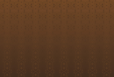 grades: Brown classic background with swirls. Illustration