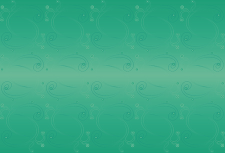persian green: Fantasy green background with decorative elements. Persian green. Illustration