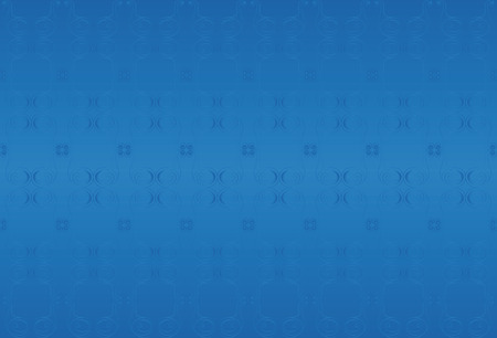 scroll tracery: Blue classic background. Decorative elements.