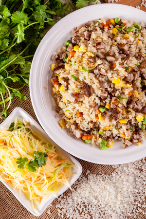 fried rice: Fried rice