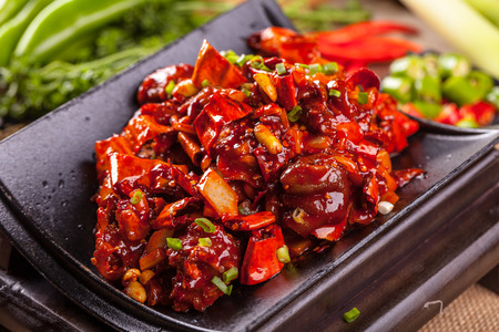 trotter: A dish of spicy pork