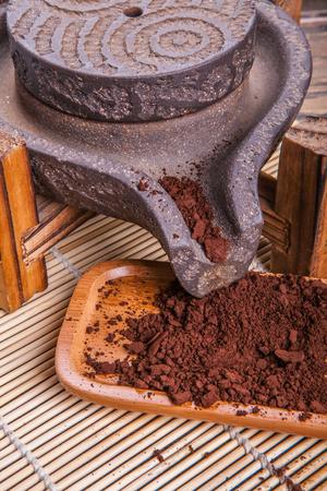 spore: A glossy ganoderma spore powder