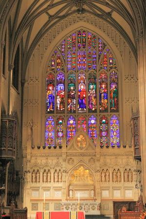 Visiting Trinity Church, New York
