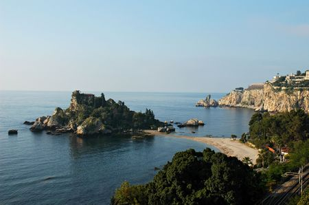 bella: Isola Bella, island of the Sicilian coast to Taormina
