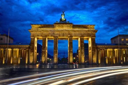 Berlim Lights Banco de Imagens