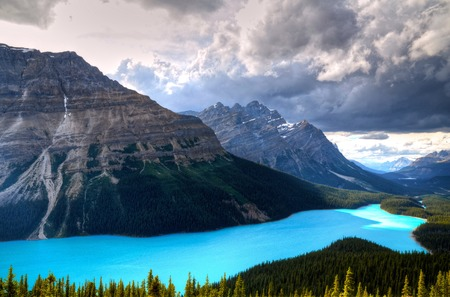 Peyto Lake at Canadian Rockies