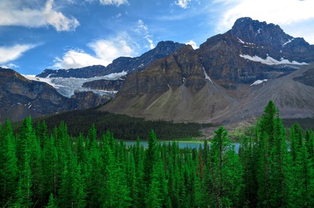 cor: Canidian Rocky Mountains Stock Photo