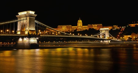 hdr: Budapest - Hungary Stock Photo