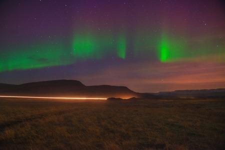boreal: Iceland Aurora Boreal In Nuspar
