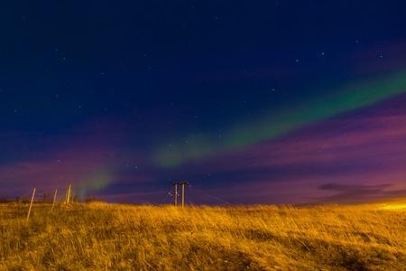 boreal: Iceland Aurora Boreal In Hella