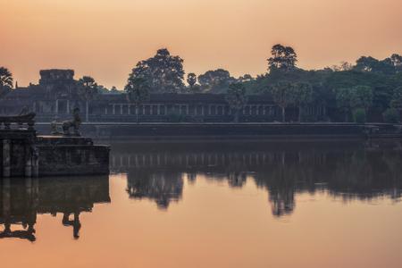 wat: Cambodia Angkor Wat Sunrise