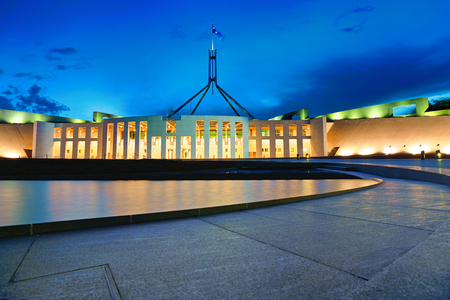 Parliament and the night
