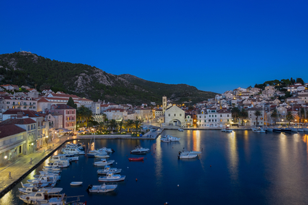 blue hour: Croatias Island Hvar and the blue hour