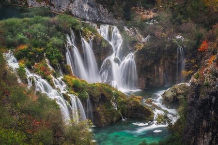 plitvice: Long Exposure of plitvice waterfalls