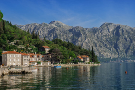 kotor: Kotor Bay and the reflection of the city