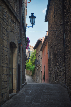 Photo of the streets of the San Marino at the afternoon