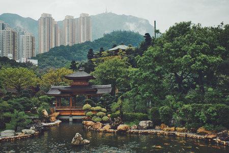Photo of the Nan Lian Garden in Hong Kong