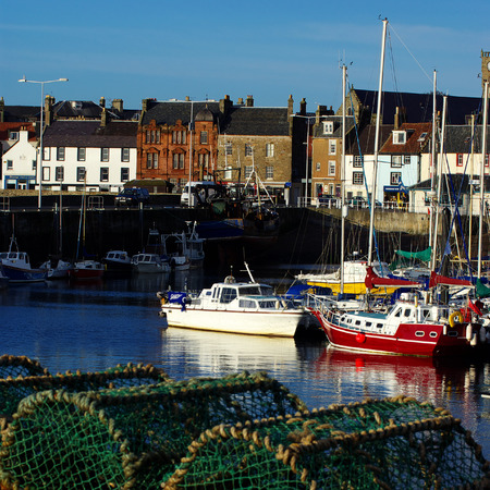 lobster boat: Anstruther harbor