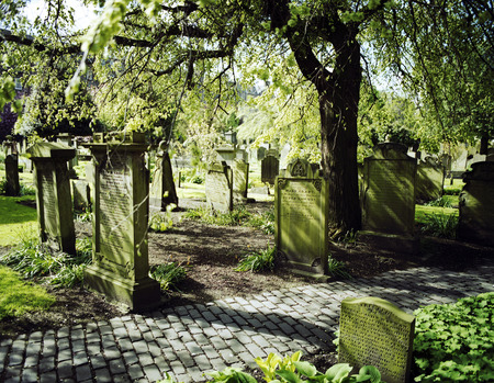 dundee: Graveyard in Dundee