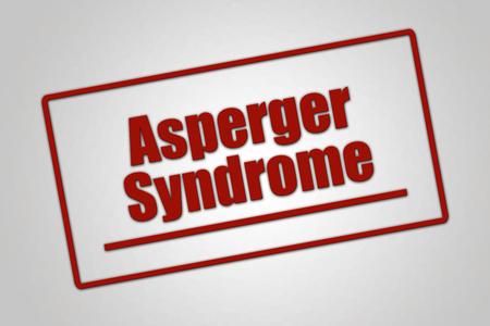 Disease - Header - Asperger Syndrome Stock Photo