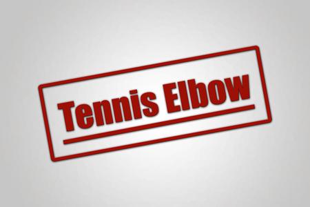 Disease - Header - Tennis Elbow Stock fotó