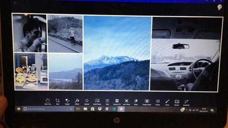 Photo collage Banco de Imagens