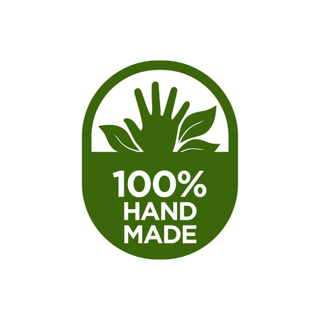 100% Hand made icon. Vector illustration.