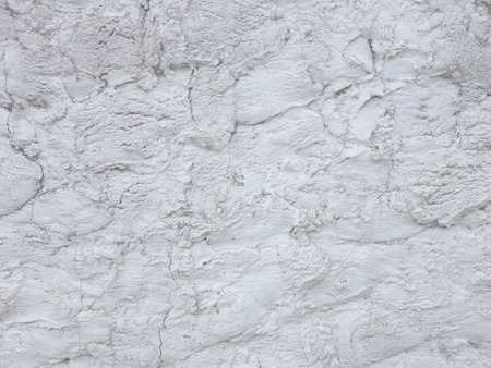 White plaster wall background