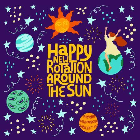 Happy new rotation around the sun