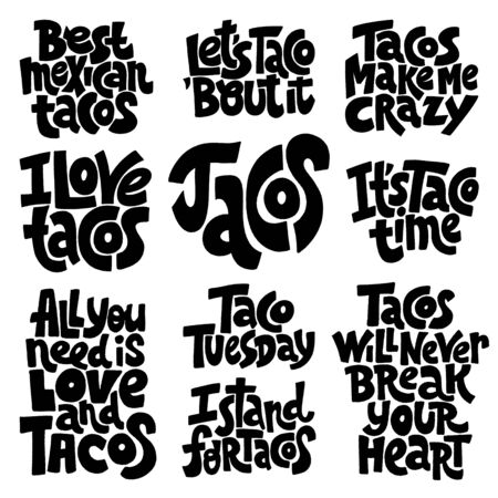 Taco loving set