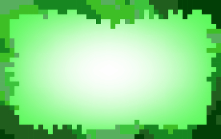 pastel tone: Green abstract mosaic background in pastel tone Illustration