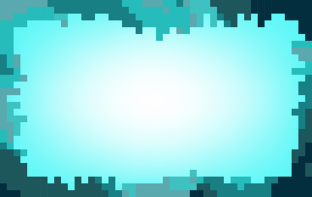 pastel tone: Blue abstract mosaic background in pastel tone