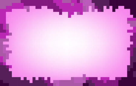 pastel tone: Violet abstract mosaic background in pastel tone Illustration