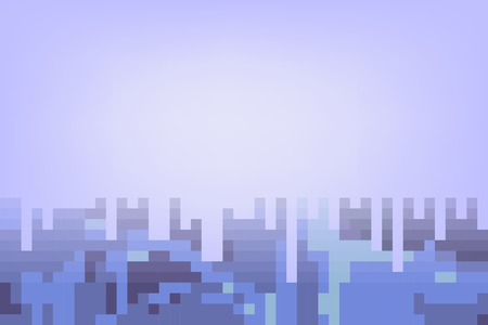 tone: Blue abstract mosaic background in pastel tone