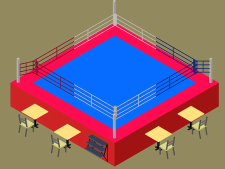 Isometric boxing ring with tables for judges isolated in vector isometric boxing ring with tables for judges isolated in vector stock vector 77770649 ccuart Images