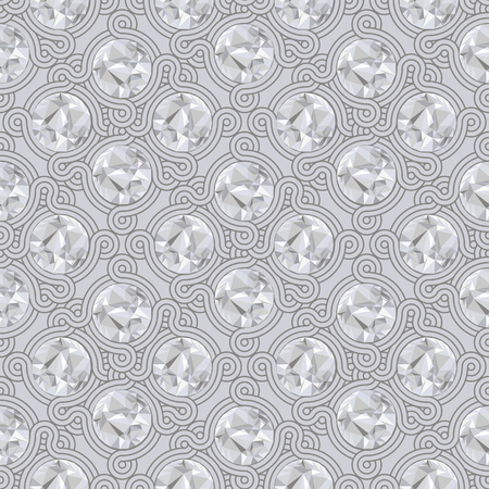 knotty: Vintage seamless pattern and background for web and mobile applications in vector